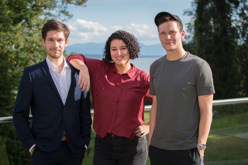 Aziza El-Gindi mit Vassili Golod und Jan Kawelke vom Machiavelli-Podcast
